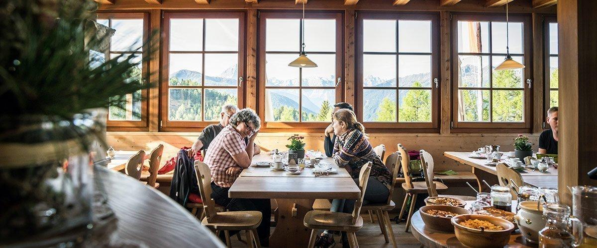 La nostra colazione per amanti della buona tavola e turisti attivi