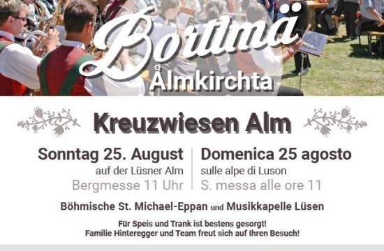 Bortlmä Almkirchta 2019