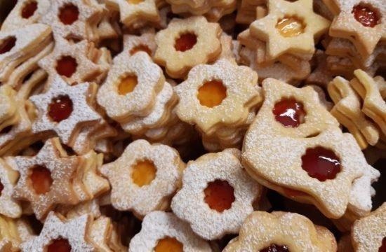 In der Weihnachtsbäckerei :-)