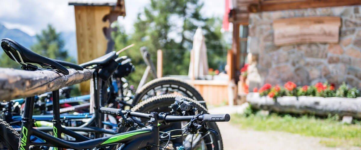 Auf dem Mountainbike über die Lüsner Alm