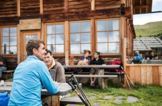 Kreuzwiese mountain hut Luson 9