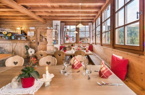 Kreuzwiese mountain hut Luson 54