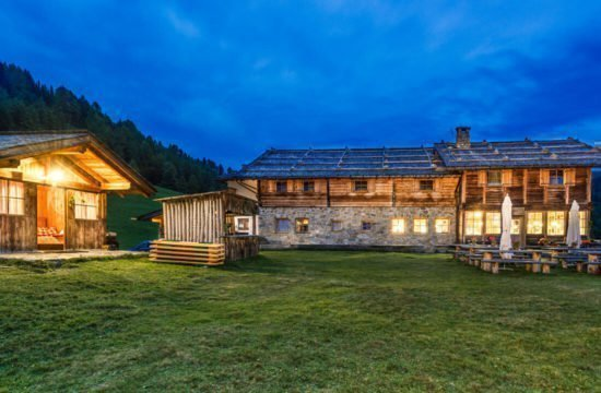 Kreuzwiese mountain hut Luson 59