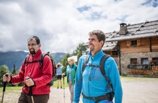 Kreuzwiese mountain hut Luson 11