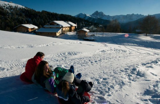Kreuzwiese mountain hut Luson 85