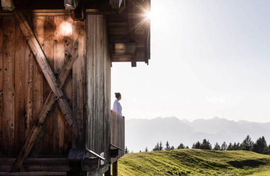 Kreuzwiese mountain hut Luson 44
