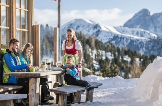 Kreuzwiese mountain hut Luson 164