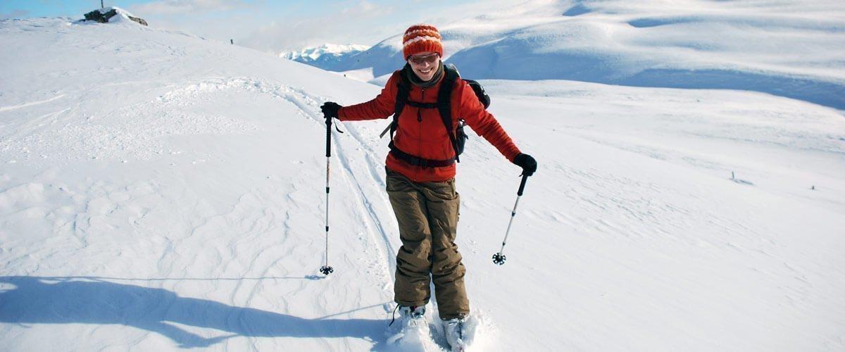 Skitouren und Langlaufen auf der Lüsner Alm/Südtirol