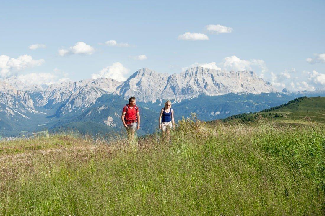 Wanderurlaub Südtirol – Wandern auf der Lüsner Alm