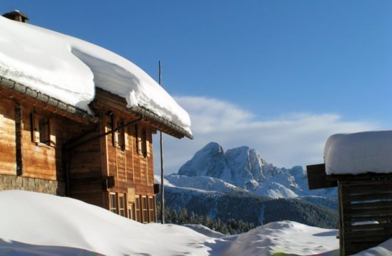 Winter holidays South Tyrol / Kreuzwiese hut 6