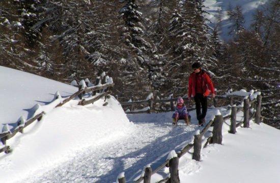Vacanza invernale in Alto Adige / Rifugio Kreuzwiese 1